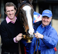 The great Synchronised, with Tony McCoy and Jonjo O'Neill